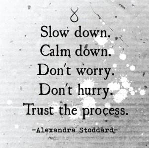 Slow do