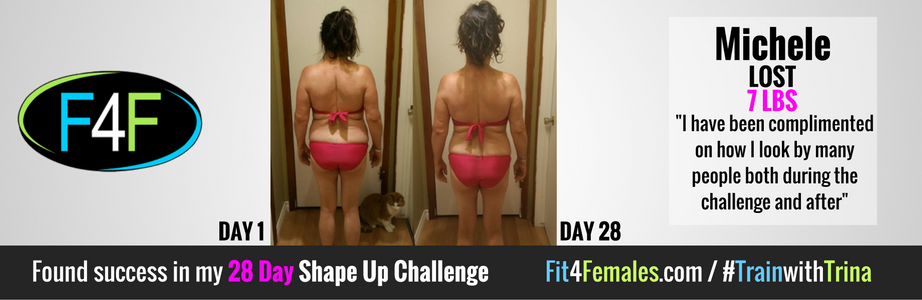 Michele's 28 Day Shape Up Challenge