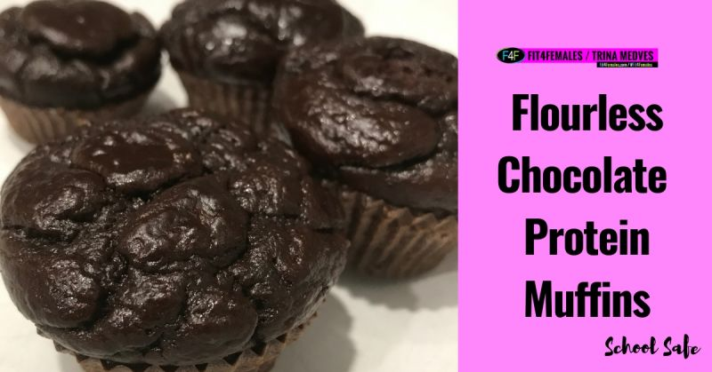 losing-weight-chocolate-protein-muffins-school-safe-flourless