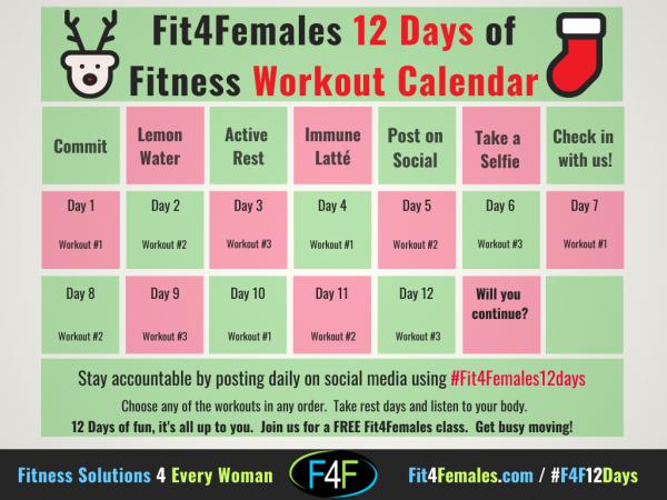 2020-12-Days-Christmas-Workout-Calendar